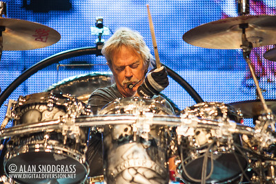 Frank Beard of ZZ Top performs August 19, 2012 at Sleep Train Pavilion in Concord, California