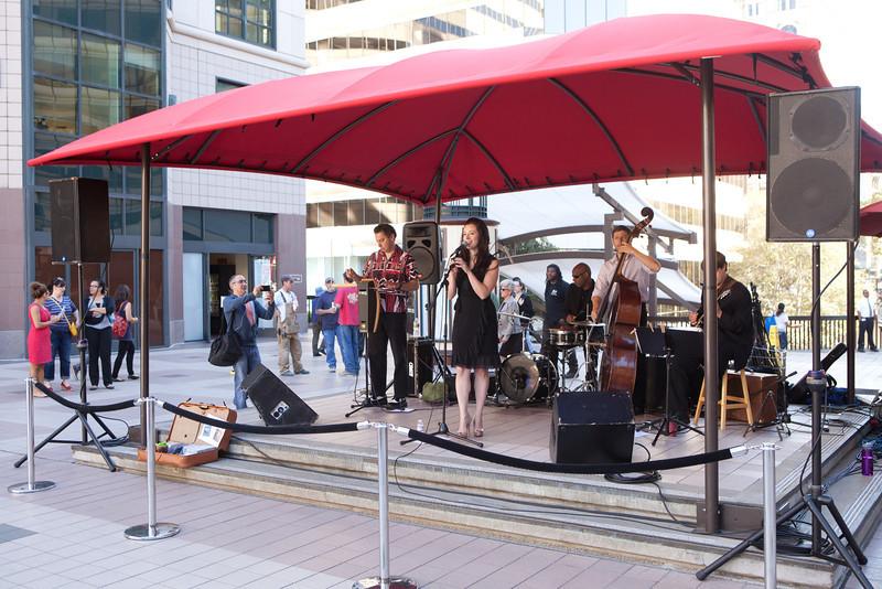 2012.06.06 Oakland City Center Summer Sounds Concerts-Project Pimento