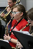 Pep Band @ Girls Varsity Basketball - 1/10/2014 Ludington