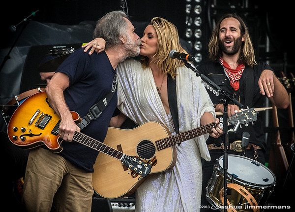 Grace Potter & The Nocturnals performed with Bob Weir on Saturday at All Good Music Festival in Legend Valley, Ohio