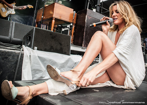 Grace Potter & The Nocturnals performed on Saturday at All Good Music Festival in Legend Valley, Ohio