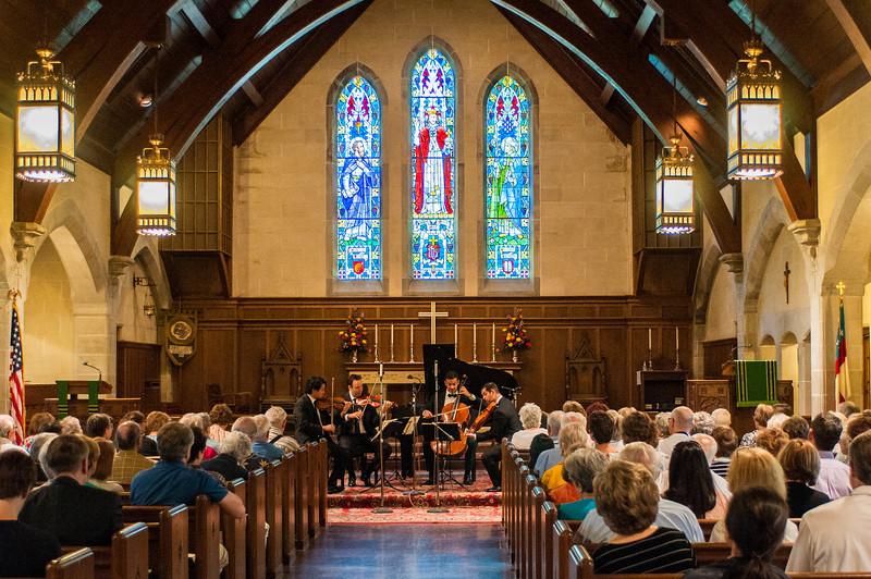 Miro Quartet at St. Luke's Episcopal Church