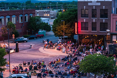 View from the roof of the Kress Loft, 2013 OK Mozart