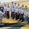 HFE's Joyful Noise Singers sang the national anthem before TMP-M's home game on January 29, 2013.