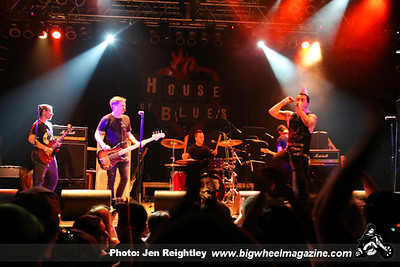 The Adicts - Billy Bones - and Raptors - at The House of Blues - Anaheim, CA - March 17, 2013