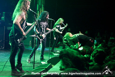 The Casualties - Goatwhore - Dr Know - Havoc - The Schitz - and Child Abduction - at The Observatory - Santa Ana, CA - April 3, 2013
