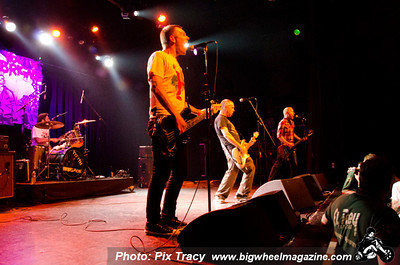 Cockney Rejects - Youth Brigade - Union 13 - and Warlords - at El Rey Theatre - Los Angeles, CA - February 18, 2013