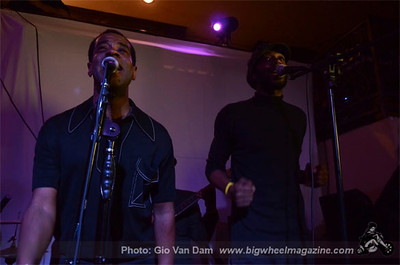 Derrick Harriott - at La Villa Basque Vivere Lounge - Vernon, CA - February 2, 2013