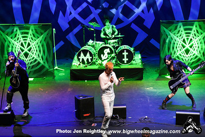Mindless Self Indulgence with Chantal Claret - at Club Nokia - Los Angeles, CA - May 4, 2013