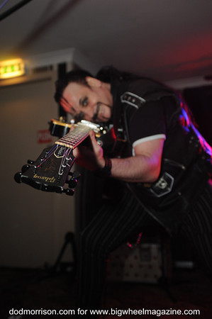 Vice Squad - Rabid Punk Guitars - and Buzzbomb - at The Windsor - Kirkcaldy, UK - April 20, 2013
