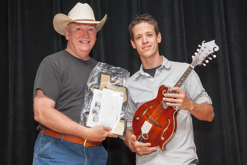 First Place Josh Bailey<br /> Victoria, Texas<br /> Presented By Kenny Snow<br /> 2012 Texas Mandolin Champion