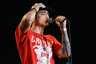 Mic Righteous performs for Agit8 at Tate Modern, London - 12/06/13