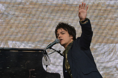 Jamie Cullum performs for Agit8 at Tate Modern, London - 12/06/13