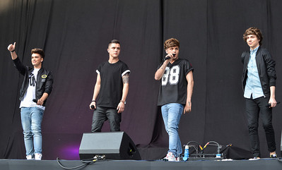 Union J perform at Allstarz Summer Party 2013 - 01/06/13