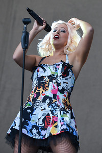 Amelia Lily performs at Allstarz Summer Party 2013 - 01/06/13