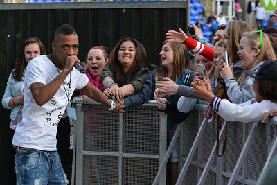 Wiley performs at Allstarz Summer Party 2013 - 01/06/13