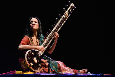 Anoushka Shankar performs at Queen Elizabeth Hall - 13/04/13