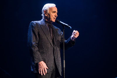 Charles Aznavour performs at Royal Albert Hall - 25/10/13