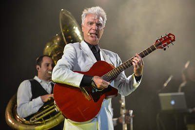 David Byrne & St Vincent perform at End of the Road Festival 2013 - 30/08/13