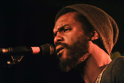 Gary Clark Jr performs at The Garage, London - 26/02/13