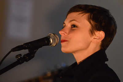 Kat Edmonson performs at St Pancras Old Church - 08/05/13