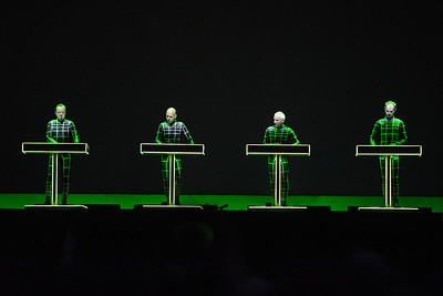 Kraftwerk perform at Latitude Festival 2013 - 20/07/13
