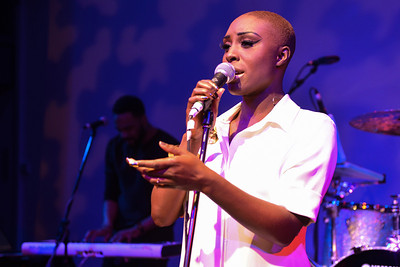 Laura Mvula performs at The Tabernacle, Notting Hill - 03/03/13