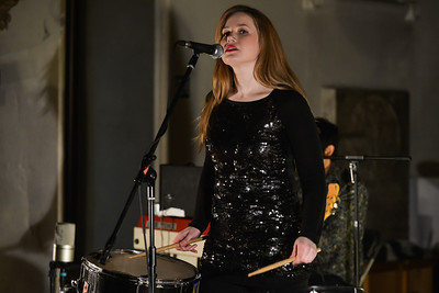 Mary Epworth performs at St Pancras Old Church, London - 03/04/13
