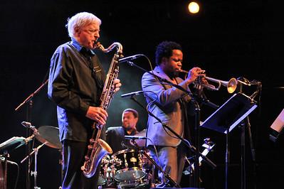 Michel Portal & Ambrose Akinmusire perform at Queen Elizabeth Hall - 14/11/11