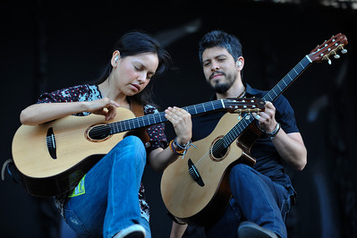 Rodrigo y Gabriela perform at Latitude Festival 2010 - 18/07/10