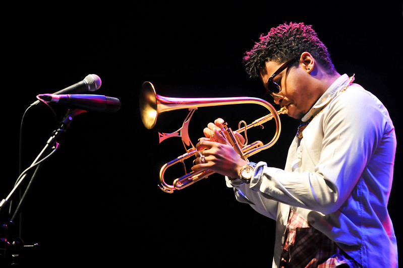 Christian Scott performs during London Jazz Festival 2010 - 15/11/10