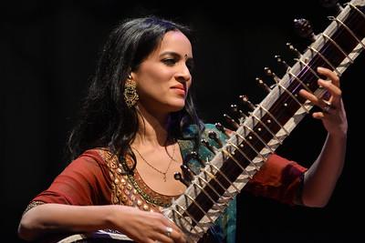 Anoushka Shankar performs at Queen Elizabeth Hall - 13/04/13
