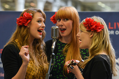 The Sugar Sisters perform for Station Sessions 2013 - 08/05/13