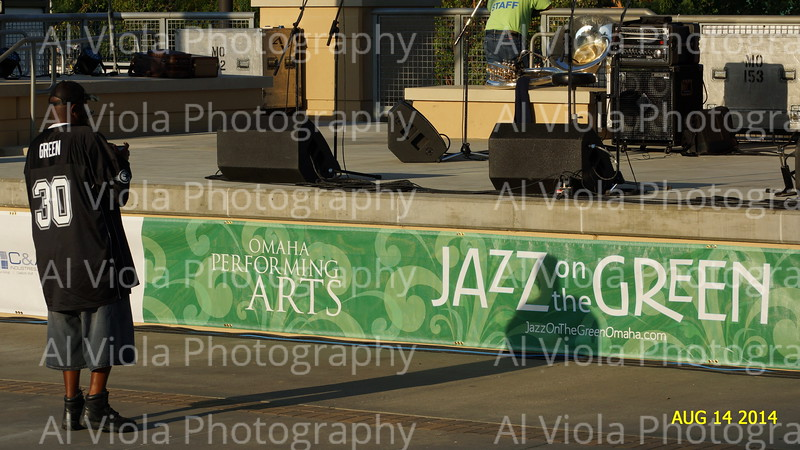 2014-08-14 Dirty Dozen Brass Band @ Jazz on the Green
