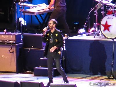 2014 (July 12)  Ringo Starr and his All Star Band, Santa Barbara Bowl