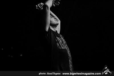 Gary Numan - Big Black Delta - Roman Remains - at Mayan Theater - Los Angeles, CA - March 6, 2014