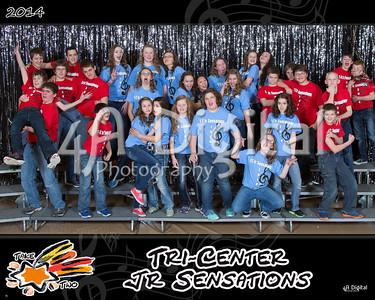 Jr Sensations group 2