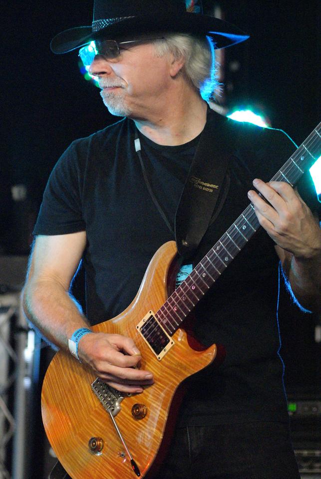 Tim Birrell of Credo at the Cambridge Rock Festival