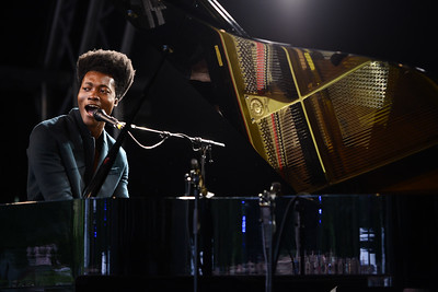 Benjamin Clementine performs at End of the Road Festival 2014 - 29/08/14