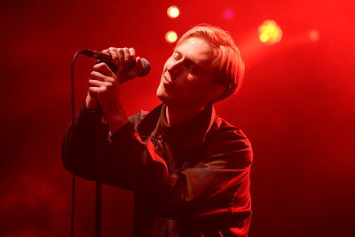 Eagulls perform at End of the Road Festival 2014 - 30/08/2014