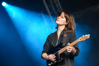 Cate Le Bon performs at End of the Road Festival 2014 - 30/08/14