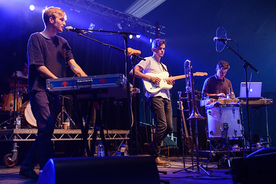 Adult Jazz perform at End of the Road Festival 2014 - 30/08/14