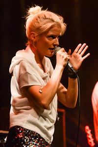 Tom Vek & Olga Bell perform at Meltdown 2014 - 20/06/14