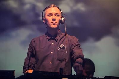 DJ Benji B performs at Meltdown 2014 - 20/06/14