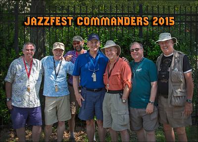 Jazzfest Commanders 2015 Official Portrait