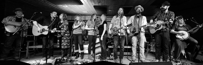 Mike Addington, Jason Eady, Courtney Patton, Brandy Zdan, Kelley Mickwee, Kristi Grider, Walt Wilkins, Drew Kennedy, Josh Grider, Susan Gibson