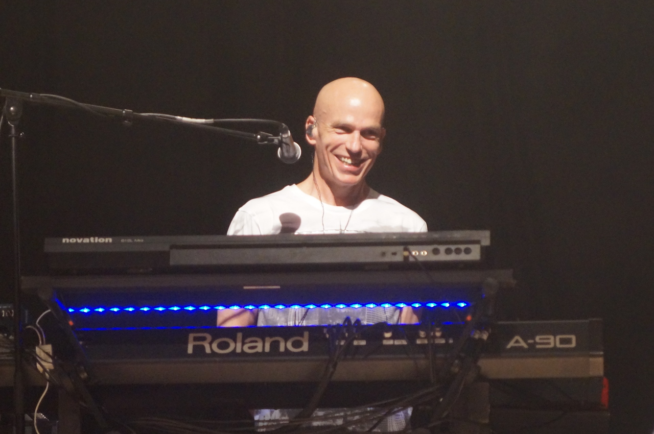 Mark Kelly at the 2015 UK Marillion Convention