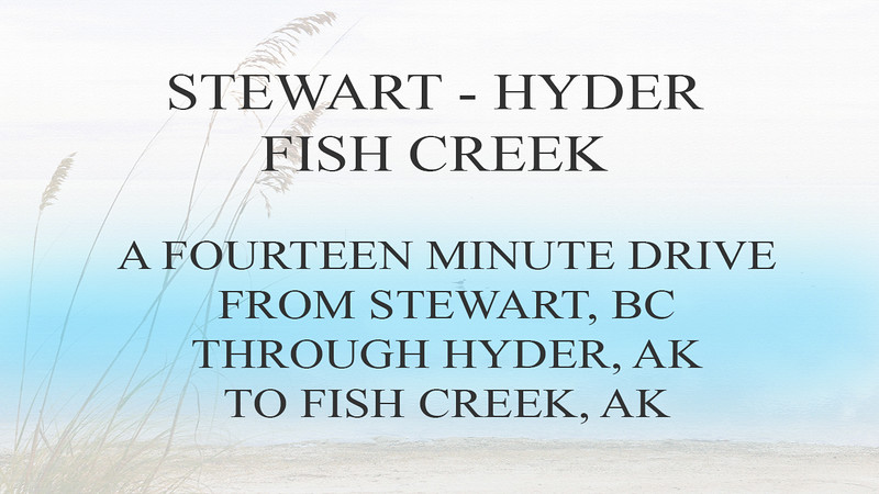 STEWART HYDER FISH CREEK