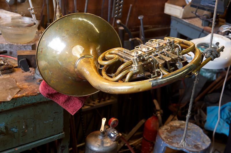 Brass repair shop