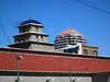 Albuquerque --traditional train station tower plus new hotel tower